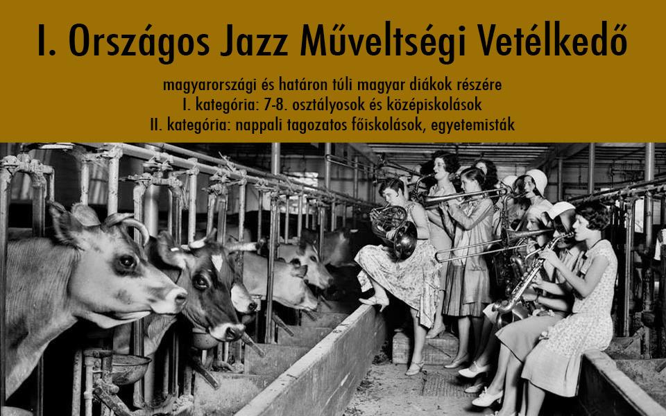 I. Országos Jazz Műveltségi Vetélkedő